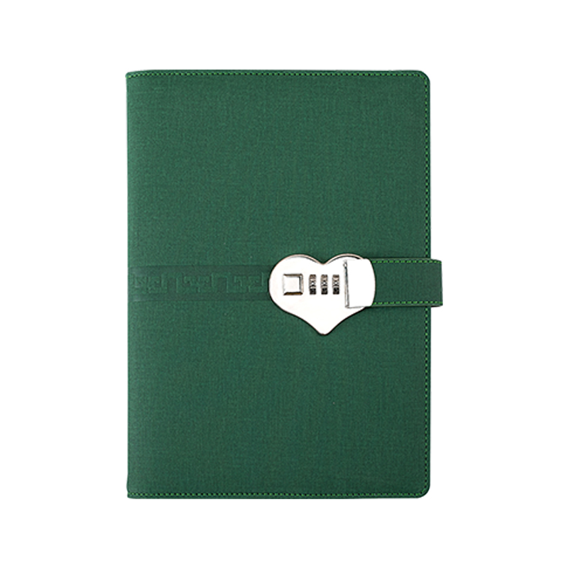Customized A5 Power Bank Notebook with Code Lock